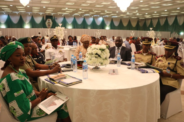 Heads of security agencies at the NAP launch