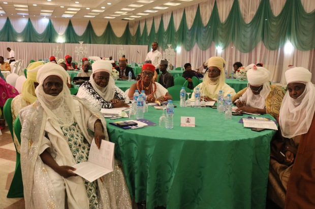 Traditional rulers at the NAP launch